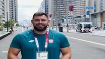 Tokio 2020. Konrad Bukowiecki zaprasza na spacer po wiosce olimpijskiej (POLSAT SPORT) Wideo