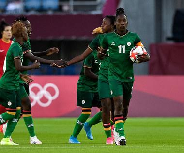 Tokio 2020. Piłka nożna kobiet - drugi hat-trick Zambijki Bandy