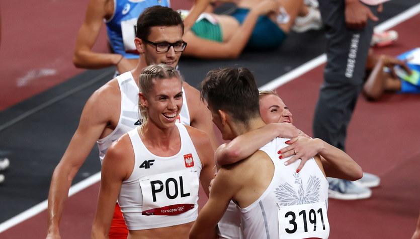 Tokio 2020. Polska sztafeta mieszana 4x400 m awansowała do finału