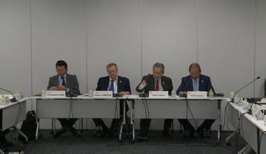 Tokio 2020. Prezydent komitetu organizacyjnego: Igrzyska nie zostaną przeniesione przez koronawirusa. Wideo