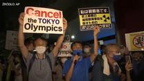 Tokio 2020. Protesty podczas ceremonii otwarcia igrzysk olimpijskich. Wideo