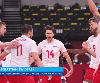 Tokio 2020. Sebastian Świderski: Faza grupowa dała Francji znacznie więcej niż Polsce (POLSAT SPORT). Wideo