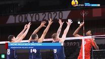 Tokio 2020. Wojciech Drzyzga: Polscy siatkarze ugrali dwie pieczenie przy jednym ogniu (POLSAT SPORT). Wideo