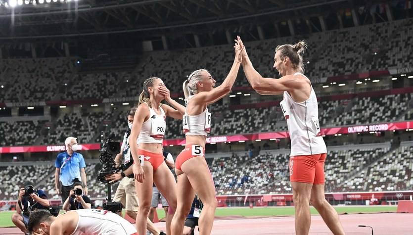 Tokio 2020. Złoty medal polskiej sztafety mieszanej 4x400m!