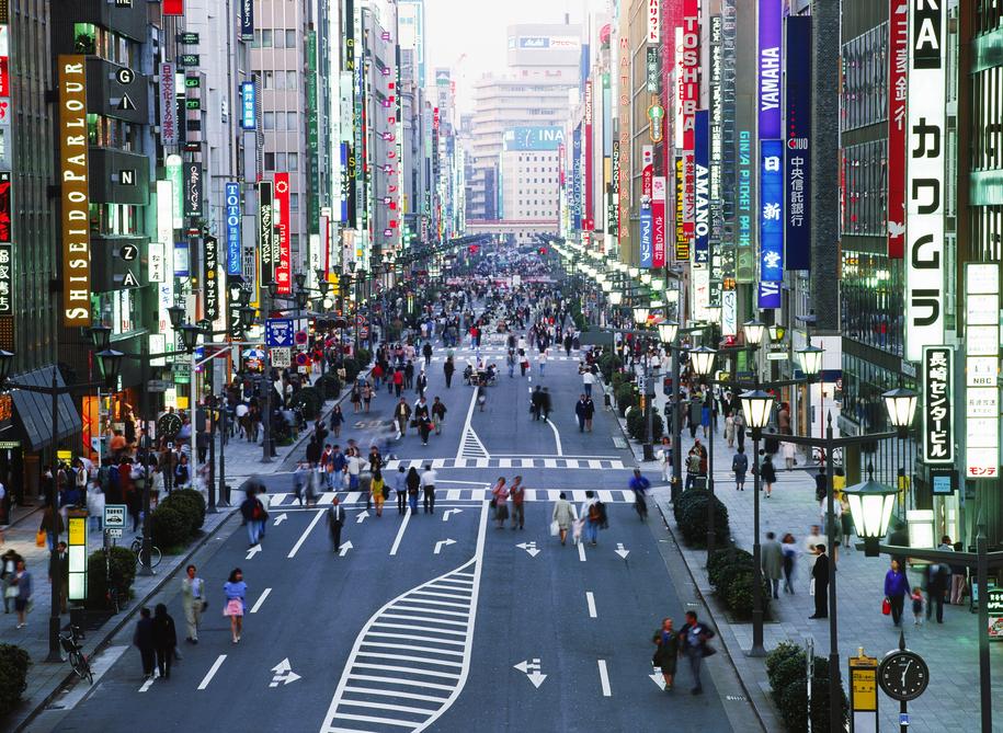Tokio - dodatkowe opłaty na autostradzie pomysłem na... rozładowanie korków /Chad Ehlers 2036 /PAP/EPA