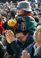 Tokio - podczas powitania Nowego Roku modlono się o szczęście /RMF24.pl