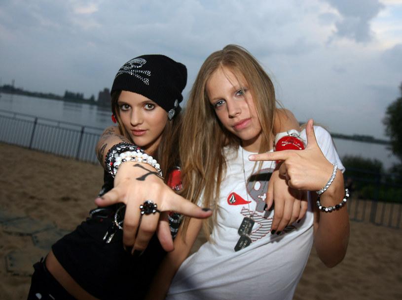 Tola Szlagowska i Alicja Boratyn w 2006 roku /Piotr Fotek /Reporter