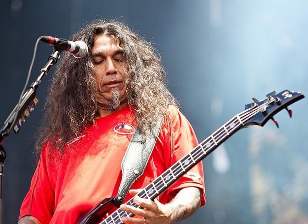 Tom Araya (Slayer) na Sonisphere Festival w Warszawie /fot. Bartosz Nowicki