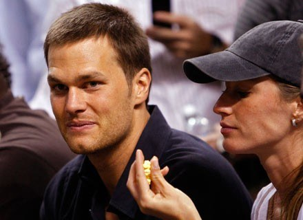 Tom Brady i Giselle Bundchen /Getty Images/Flash Press Media