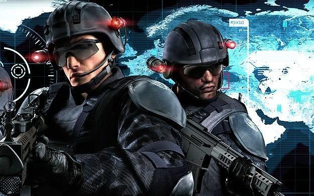 Tom Clancy's Rainbow Six: Shadow Vanguard - motyw graficzny /Informacja prasowa