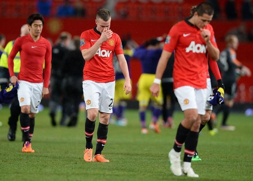 Tom Cleverley (drugi z lewej) jeszcze w barwach Man Utd /AFP