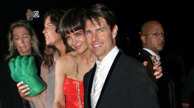 Tom Cruise i Katie Holmes  /Splashnews