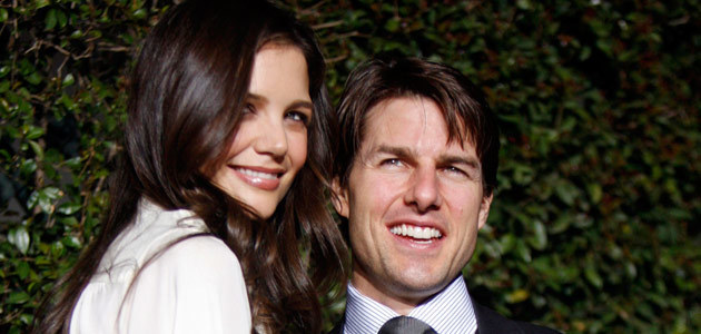 Tom Cruise i Katie Holmes, fot. Kevin Winter   /Getty Images/Flash Press Media