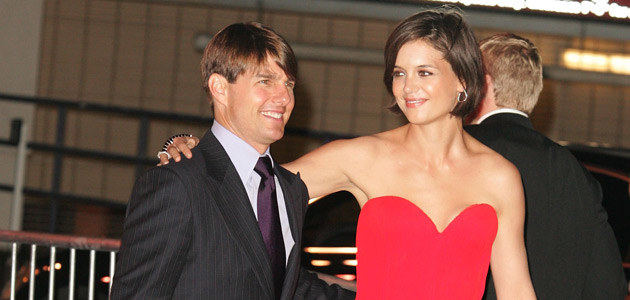Tom Cruise i Katie Holmes, fot. Noel Vasquez   /Getty Images/Flash Press Media