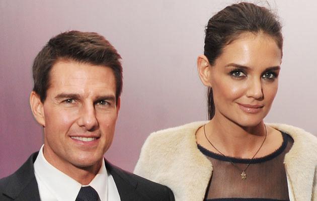 Tom Cruise i Katie Holmes kłócą się o dziecko /Stephen Lovekin /Getty Images