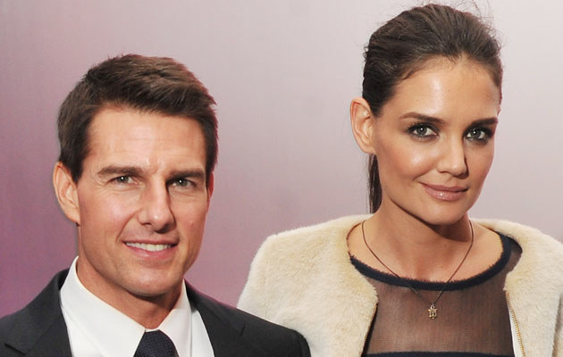 Tom Cruise i Katie Holmes /Stephen Lovekin /Getty Images