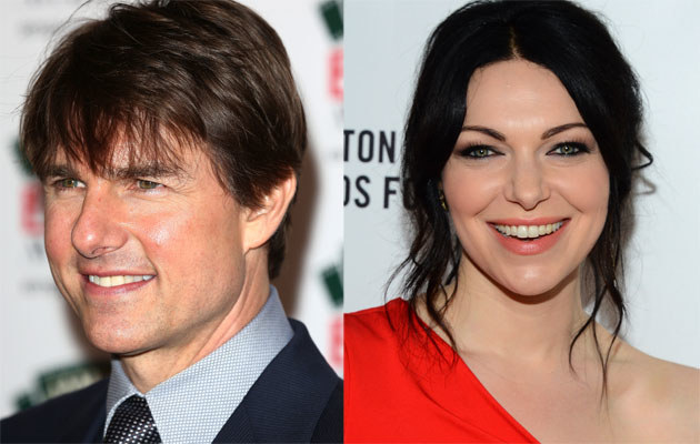 Tom Cruise i Laura Prepon /Tim P. Withby, Mark Davis /Getty Images