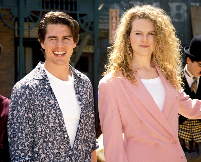 Tom Cruise i Nicole Kidman w 1992 roku, fot. Terry McGinnis/WireImage /Getty Images