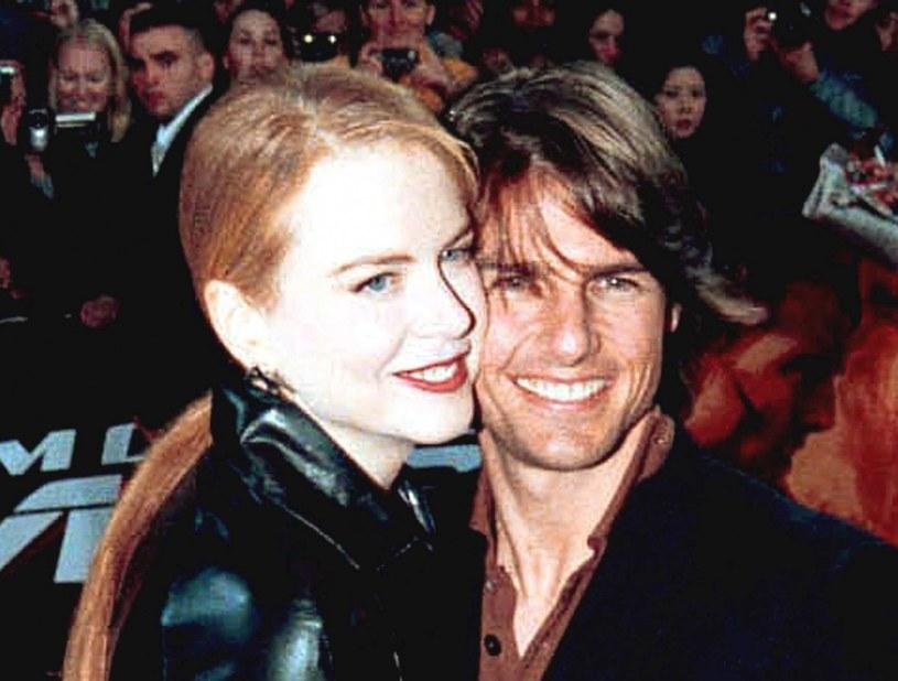 Tom Cruise i Nicole Kidman w czasie swojego małżeństwa adoptowali dwójkę dzieci: Bellę i Connora /ACIKALIN/SIPA/EAST NEWS /East News