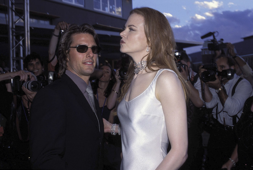 Tom Cruise i Nicole Kidman /Patrick Riviere /Getty Images
