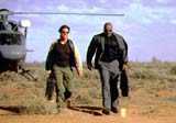 "Tom Cruise i Ving Rhames w filmie ""Mission: Impossible 2"" /"