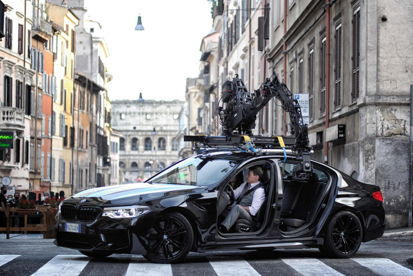 """Tom Cruise na planie """"Mission: Impossible 7"""" w Rzymie /Roma / IPA / SplashNews.com /East News"""