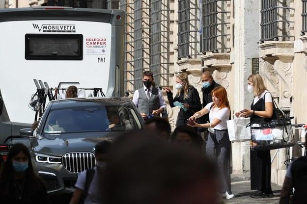 """Tom Cruise nagrywa w Rzymie najnowszą odsłonę serii """"Mission: Impossible"""" /Roma / IPA /PAP/PA"""