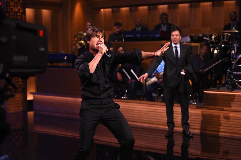 Tom Cruise u Jimmy'ego Fallona /Theo Wargo/NBC /Getty Images