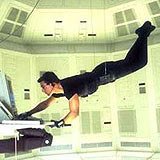 "Tom Cruise w filmie ""Mission: Impossible"" /INTERIA.PL"