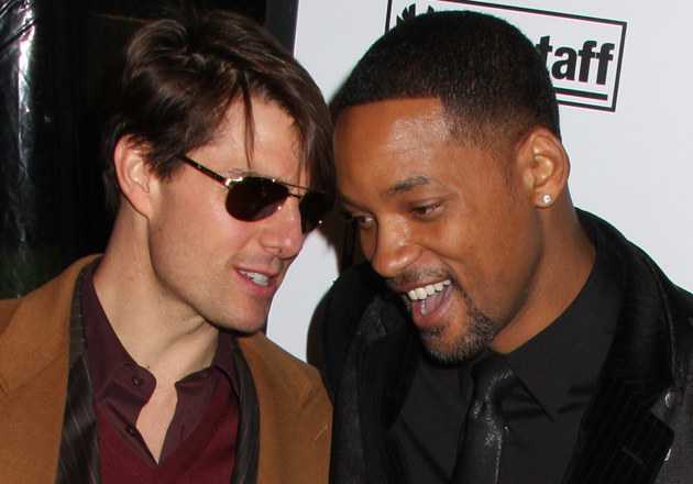 Tom Cruise, Will Smith   /Splashnews