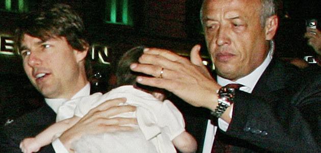 Tom Cruise z córką Suri  /AFP