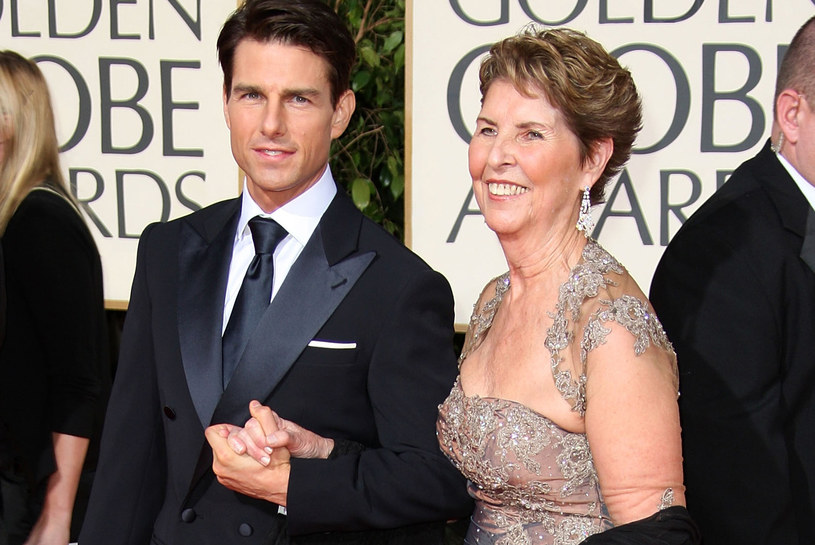 Tom Cruise z mamą /Frazer Harrison /Getty Images