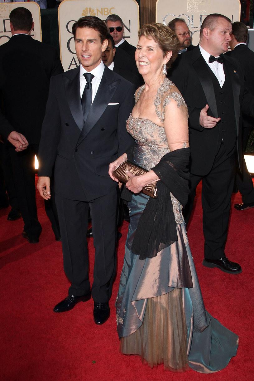 Tom Cruise z matką /Getty Images