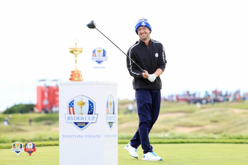Tom Felton na turnieju golfowym /Andrew Redington/Getty AFP/East News /East News