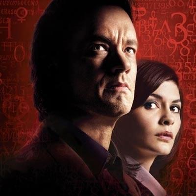 """Tom Hanks i Audrey Tautou - odtwórcy głównych ról w """"Kodzie Da Vinci"""" /"""