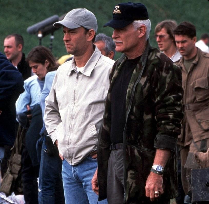 Tom Hanks i Dale Dye /East News