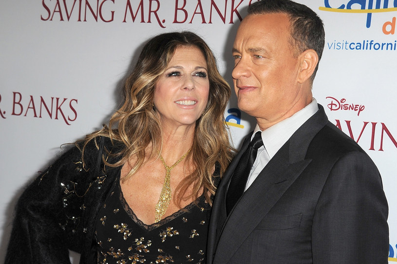 Tom Hanks i jego druga żona Rita Wilson /Getty Images