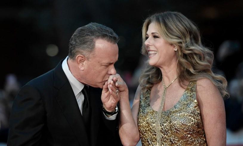 Tom Hanks i Rita Wilson tworzą szczęśliwy związek prawie od 30 lat /AFP