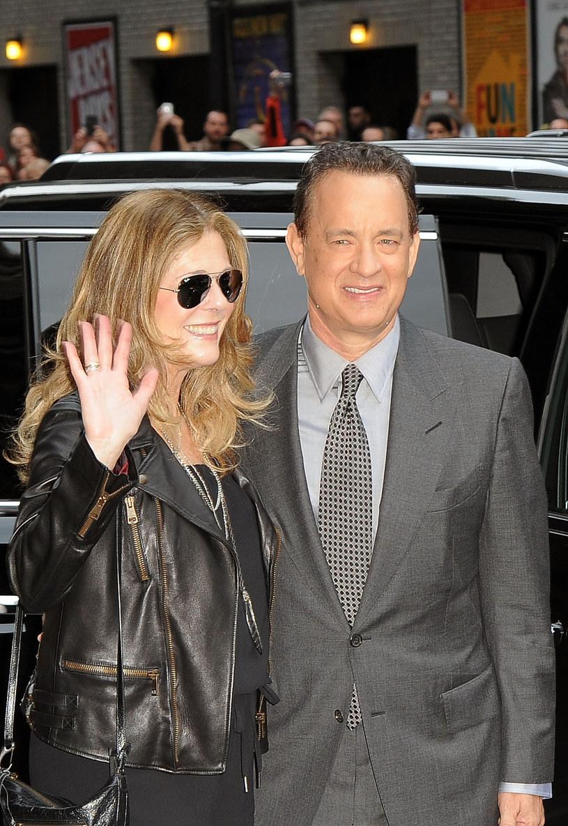 Tom Hanks i Rita Wilson /Getty Images