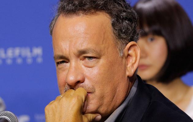 Tom Hanks martwi się o syna /Jemal Countess /Getty Images