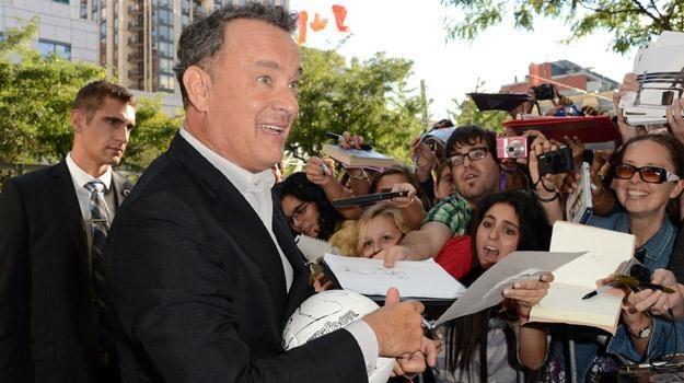 Tom Hanks na festiwalu w Toronto /AFP