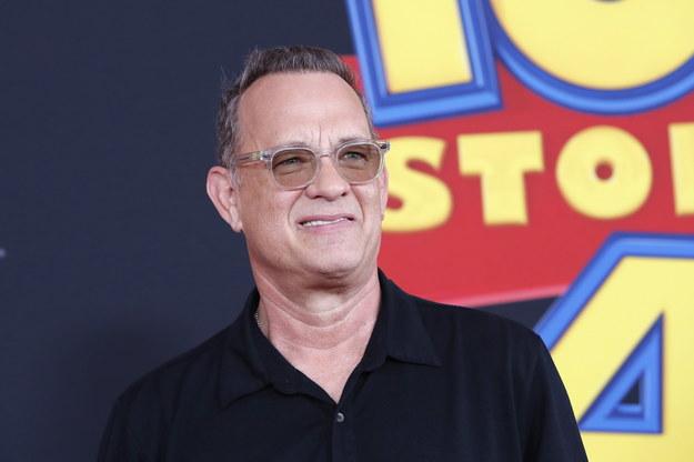 Tom Hanks  na premierze Toy Story 4 /NINA PROMMER    /PAP/EPA