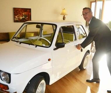 Tom Hanks odebrał kluczyki do własnego Fiata 126p