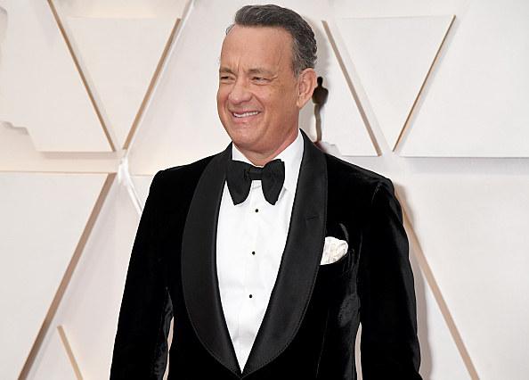 """Tom Hanks poprowadzi program telewizyjny """"Celebrating America"""" /Jeff Kravitz/FilmMagic /Getty Images"""