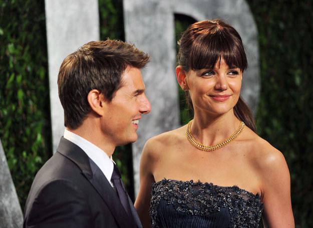 Tom i Katie na ślub zdecydowali się dopiero po narodzinach Suri /Getty Images/Flash Press Media