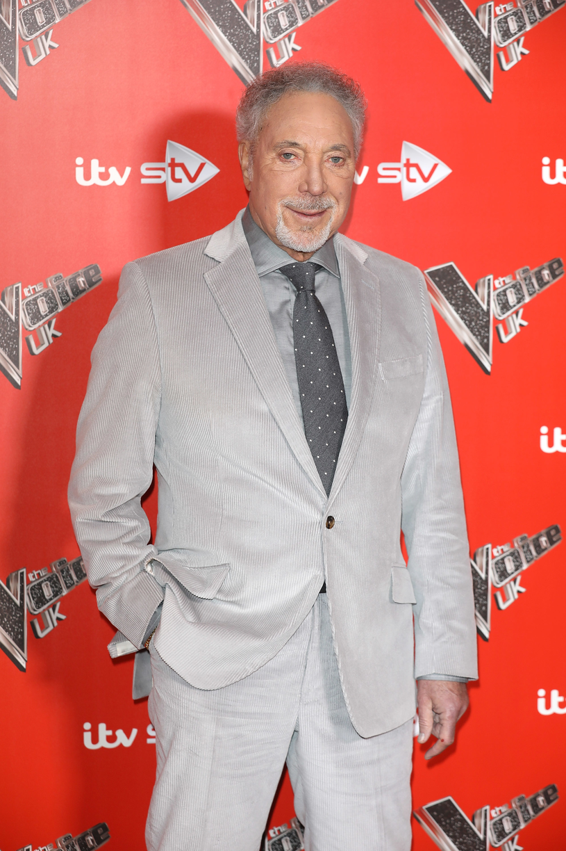 "Tom Jones w programie ""The Voice"", fot.Tim P. Whitby/Tim P. Whitby /Getty Images"