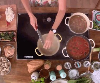 Tom kha gai i białe gazpacho, czyli zupy Moniki Mrozowskiej