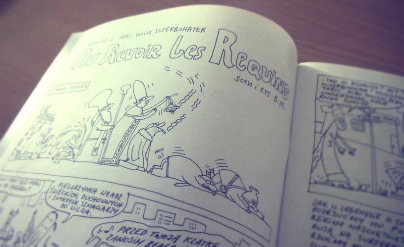 """Tom """"Syfon i papierosy"""" rozpoczyna się od wysokiego C - historii """"Au Revoir les Requins"""" /INTERIA.PL"""
