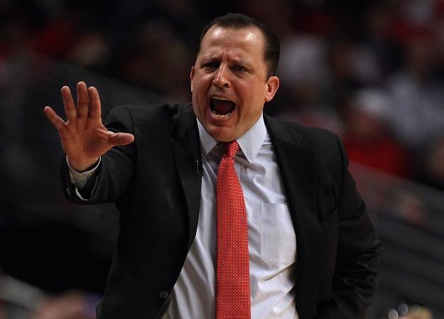 Tom Thibodeau, coach Chicago Bulls /AFP