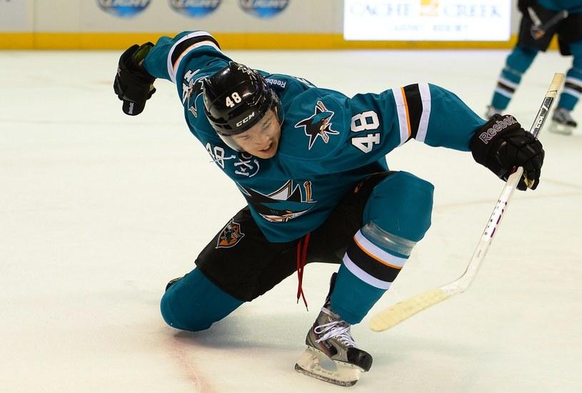 Tomas Hertl, nowa gwiazda San Jose Sharks /AFP